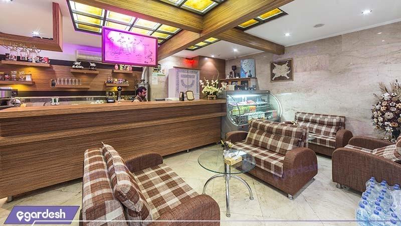 کافی شاپ هتل آپارتمان قصر آیدین