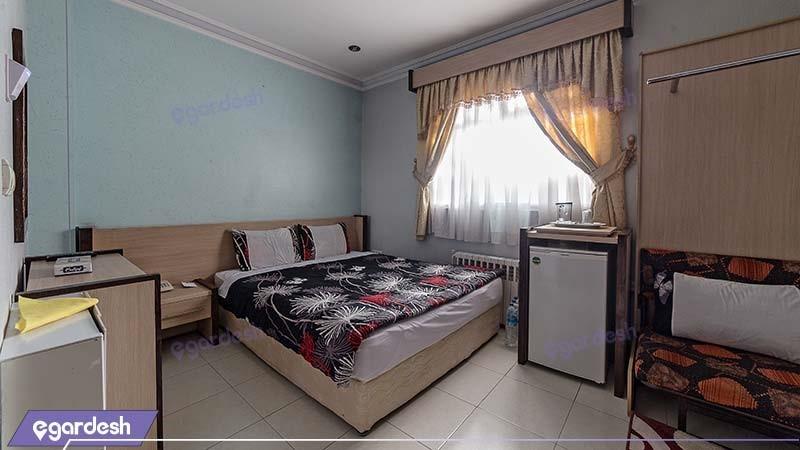 اتاق دبل هتل آپارتمان قصر آیدین