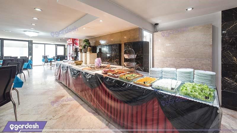 رستوران هتل آپارتمان قصر آیدین