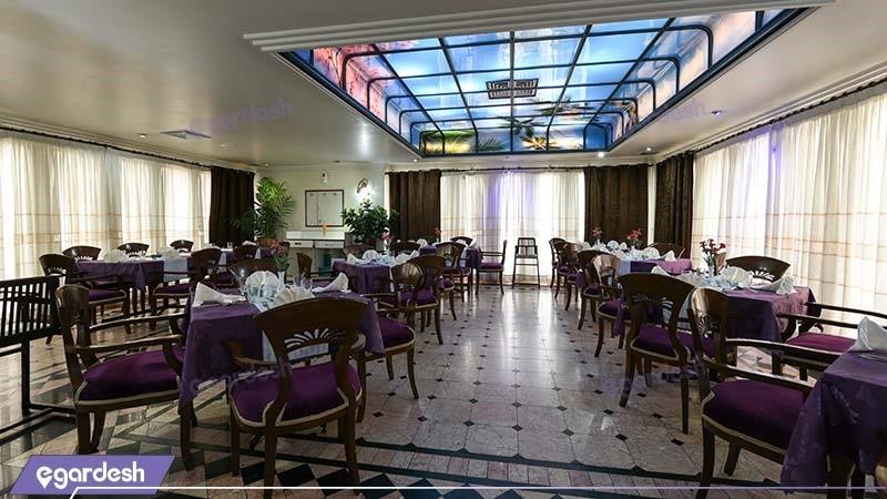 رستوران هتل رضویه