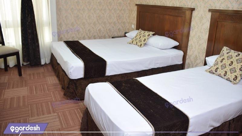 اتاق سه تخته هتل رضویه