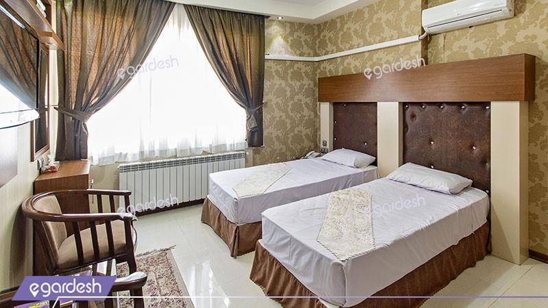 اتاق دو تخته توئین هتل رسالت