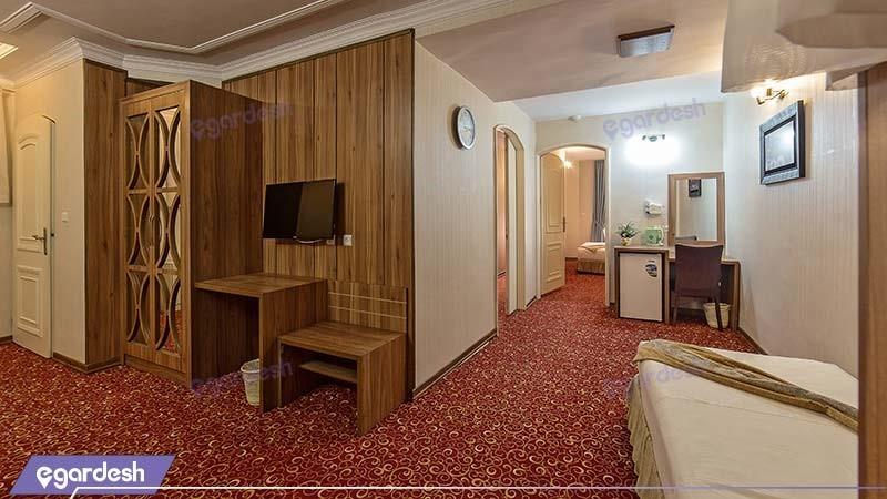 آپارتمان دو خوابه هتل صادقیه