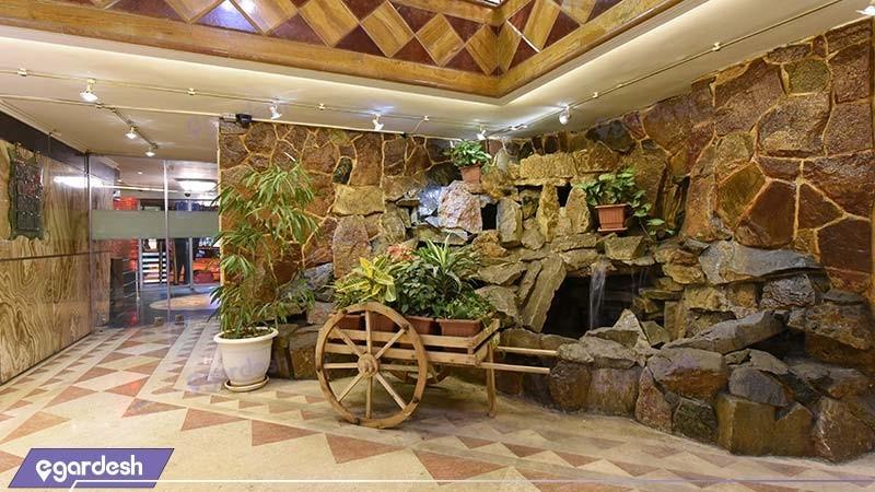 لابی هتل سی برگ
