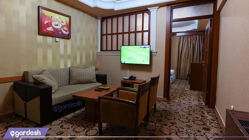 آپارتمان یک خوابه هتل سی برگ