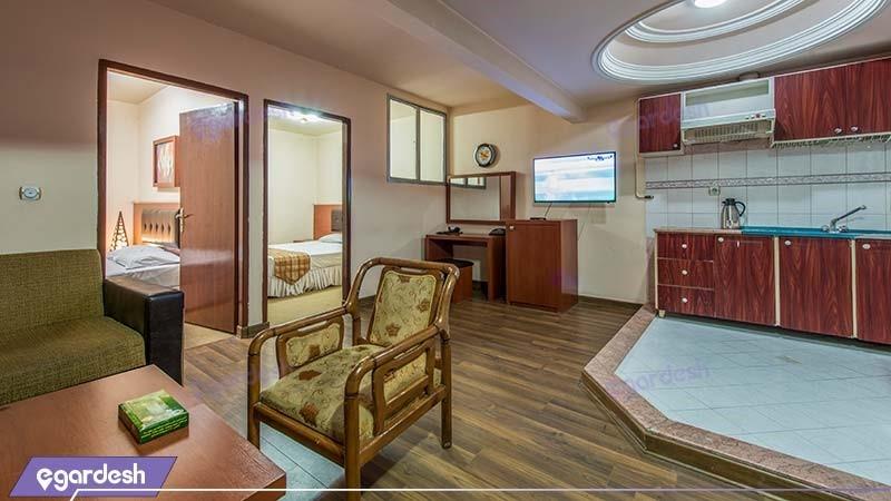 آپارتمان دو خوابه هتل سی برگ