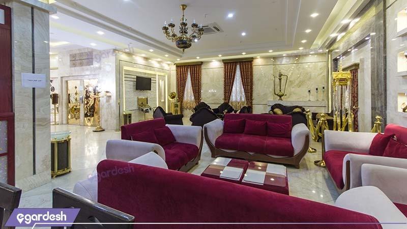 کافی شاپ هتل سراج