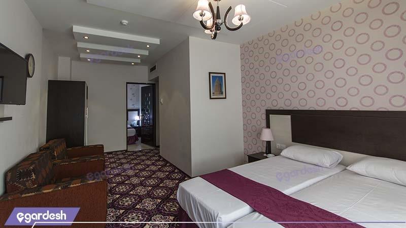 اتاق چهار نفره هتل سراج