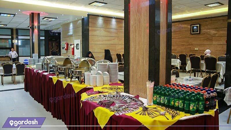 رستوران هتل آپارتمان ستارگان مشهد