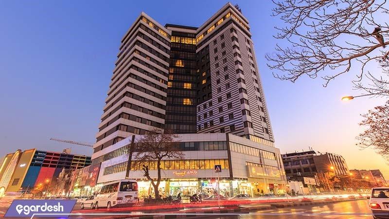 نمای ساختمان هتل سی نور