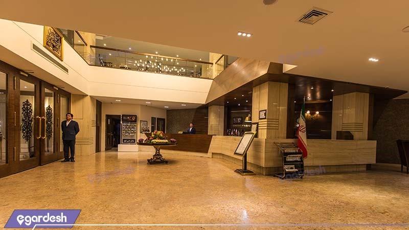 لابی هتل سی نور