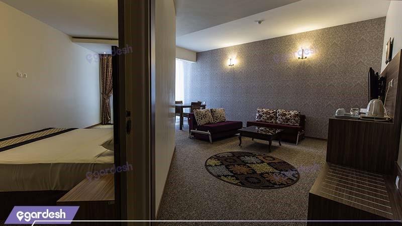 سوئیت رضوی هتل سی نور