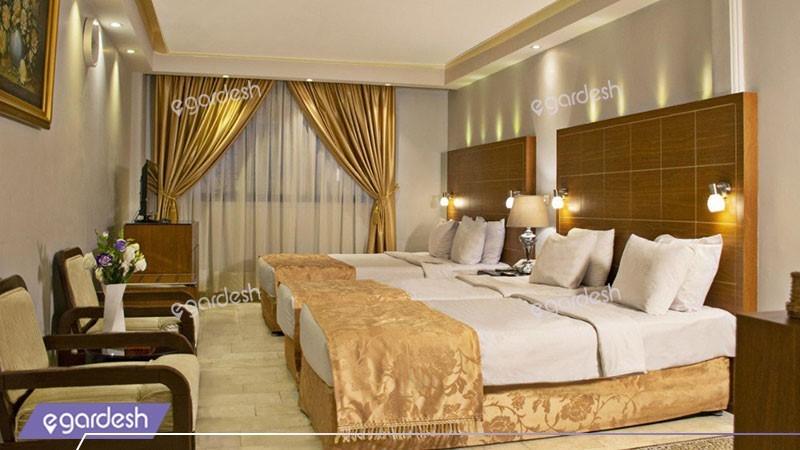 اتاق خانواده هتل تارا