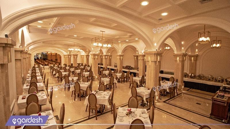 رستوران هتل تارا