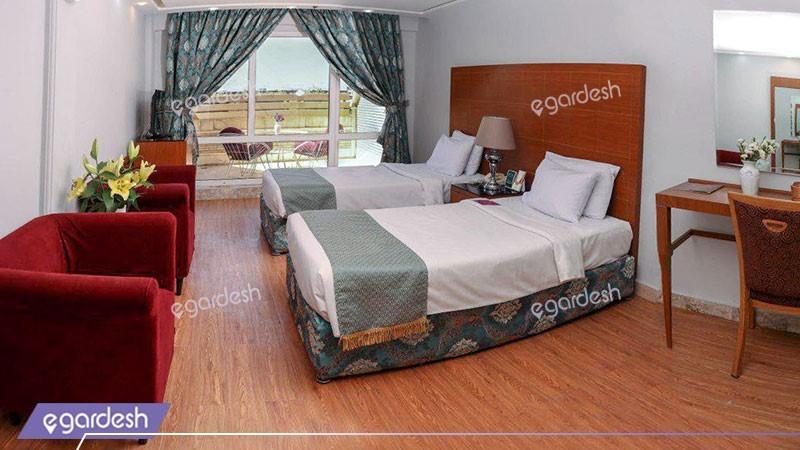 اتاق دو تخته توئین استاندارد هتل تارا