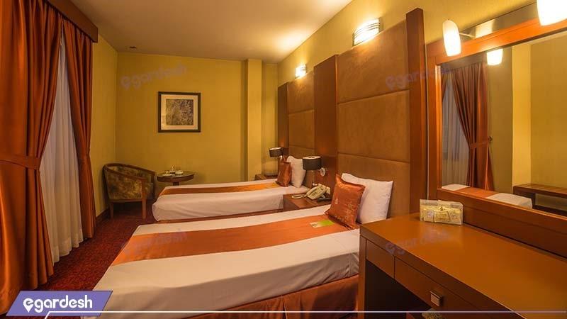 اتاق دو تخته هتل توس