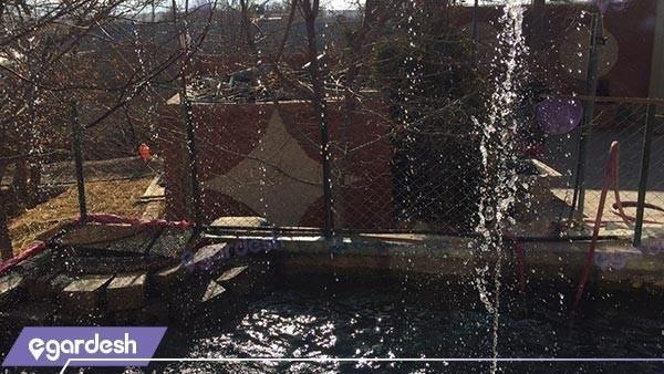 آبشار اقامتگاه بوم گردی شاهدان