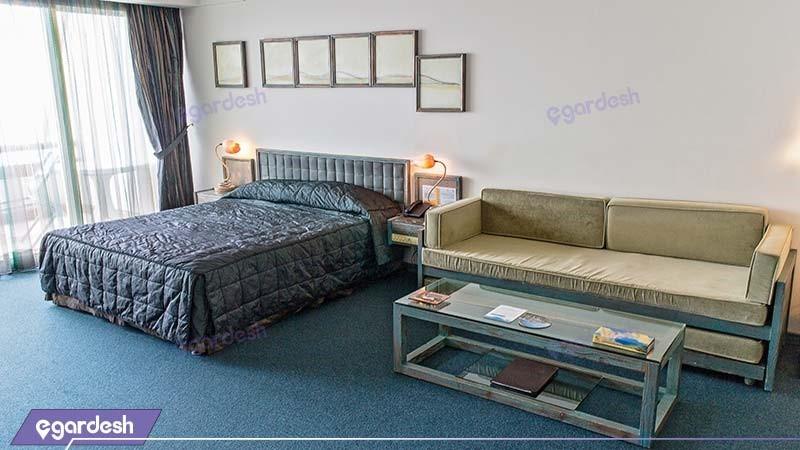 اتاق دبل رو به دریا هتل نارنجستان