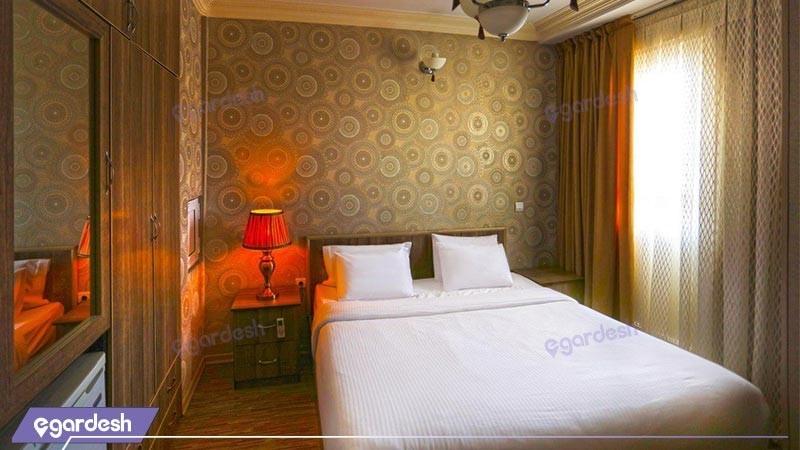 اتاق دبل دلوکس هتل آریا