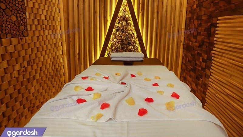 اتاق ماساژ هتل آریا
