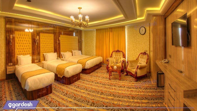 اتاق کوآدراپل هتل آریا