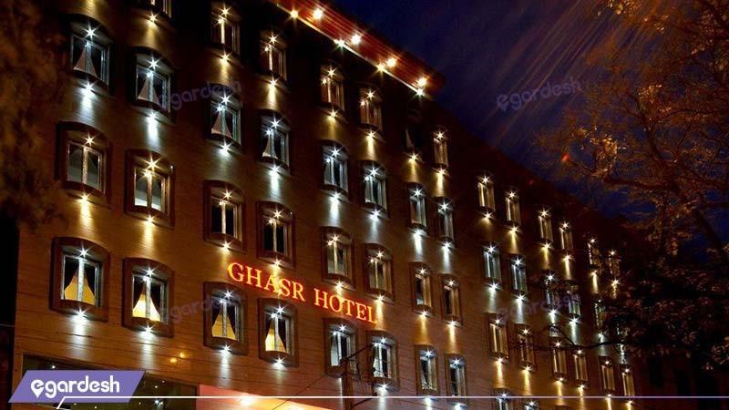 نمای ساختمان هتل قصر اسکو