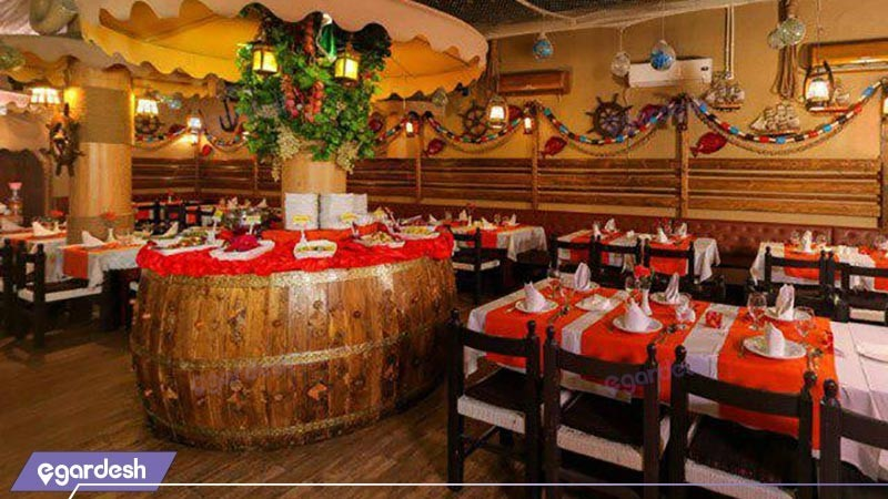 رستوران هتل پارسا