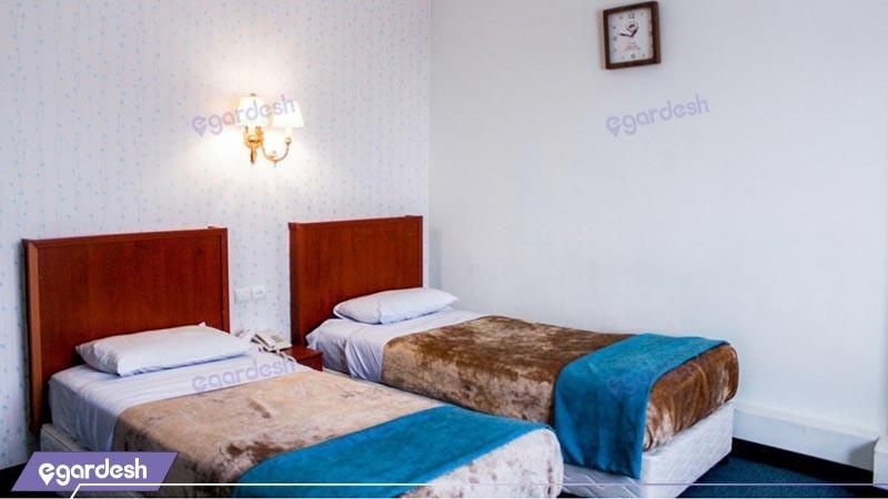 اتاق دو تخته توئین هتل پارسا