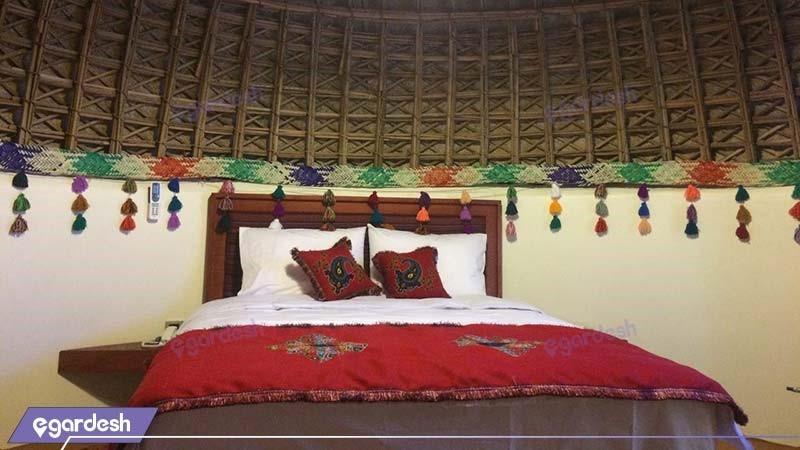 کلبه دبل هتل کپری قلعه گنج