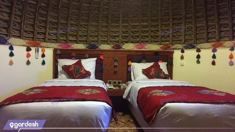 کلبه دو تخته هتل کپری قلعه گنج