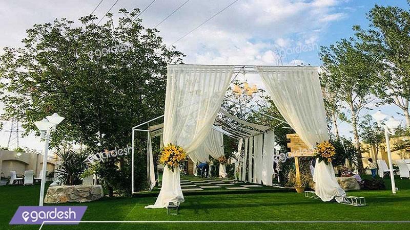 تالار عروسی فضای باز هتل ایرانیان