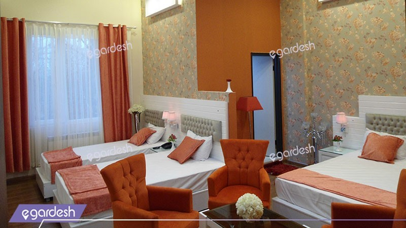 اتاق چهار تخته هتل ایرانیان