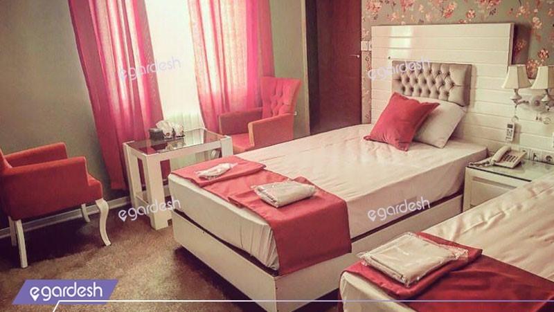 اتاق دو تخته توئین هتل ایرانیان