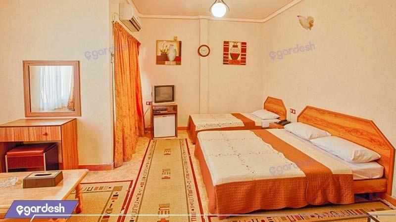 اتاق سه نفره هتل آرام قشم