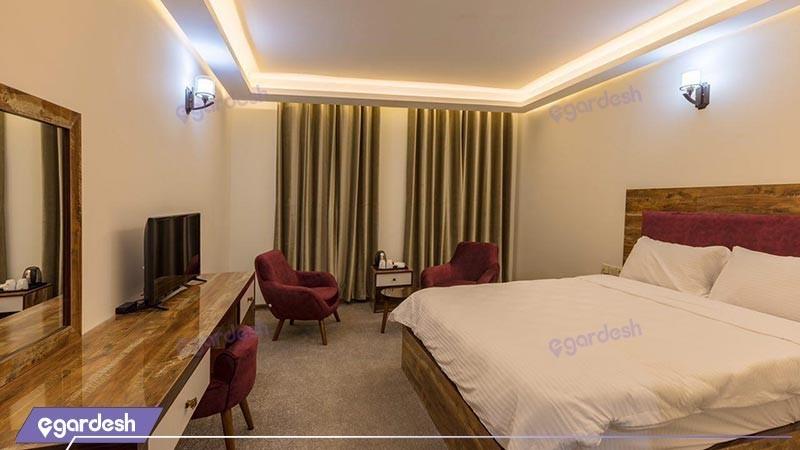 اتاق دو تخته دبل vip هتل آتامان