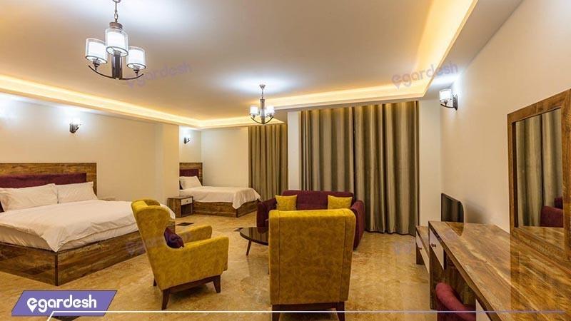 سوئیت یک خوابه هتل آتامان