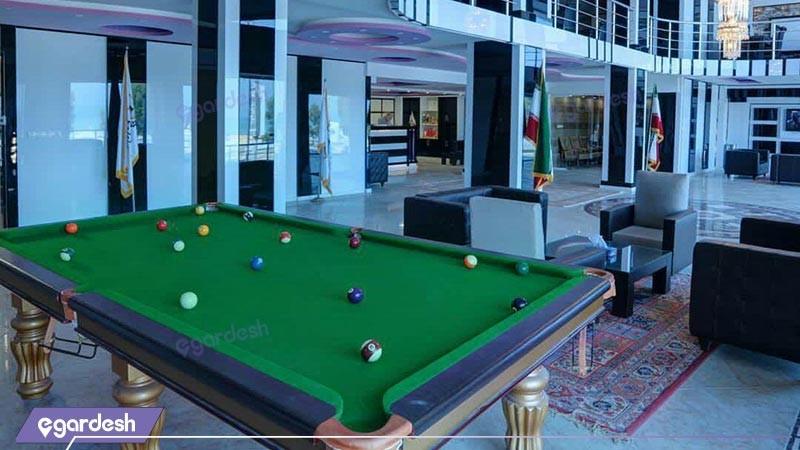 فضای بازی بیلیارد هتل آلاله مرکزی 2