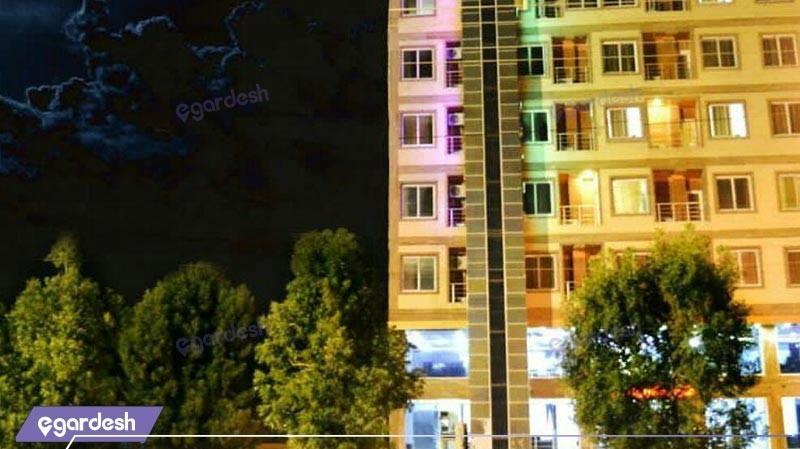 نمای ساختمان هتل آلاله 2 مرکزی