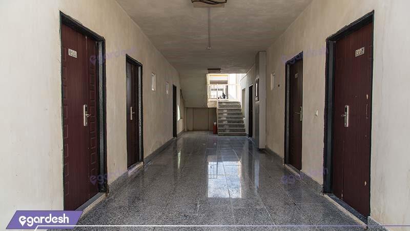 راهرو هتل ساحلی خلیج فارس