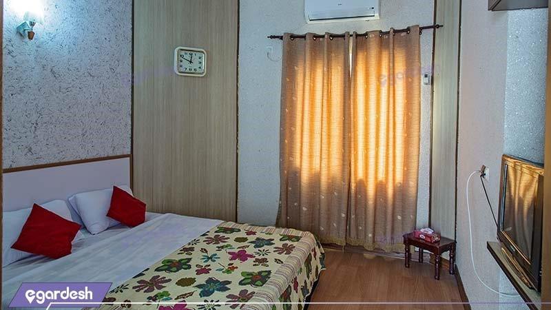 اتاق دبل هتل ساحلی خلیج فارس قشم