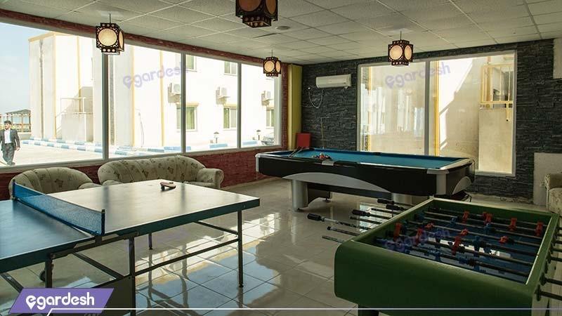 بازی های هتل ساحلی خلیج فارس