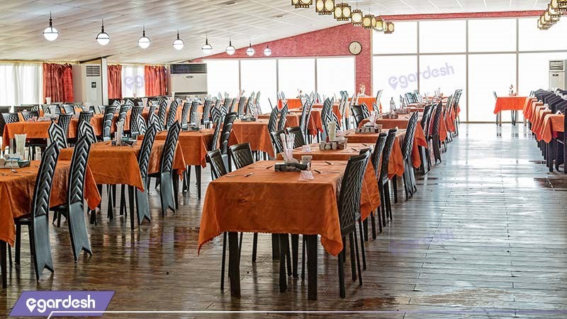رستوران هتل ساحلی خلیج فارس قشم