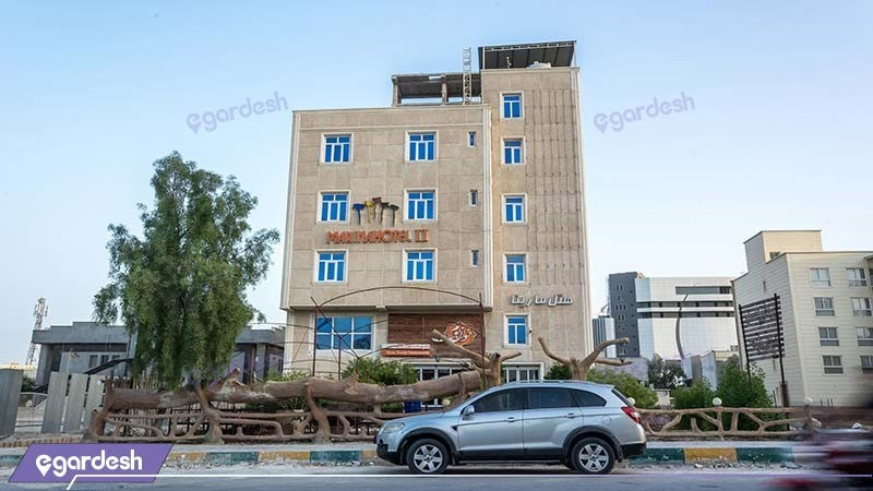 نمای ساختمان هتل مارینا 2