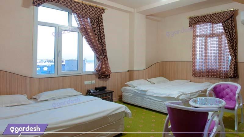 اتاق چهار نفره هتل مارینا 2