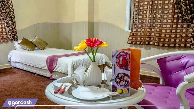 اتاق سه نفره هتل مارینا 2