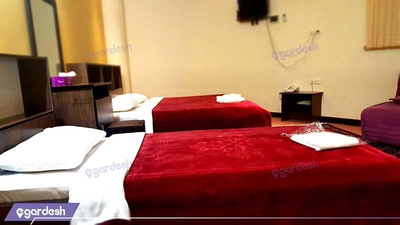 اتاق سه نفره هتل سان سیتی
