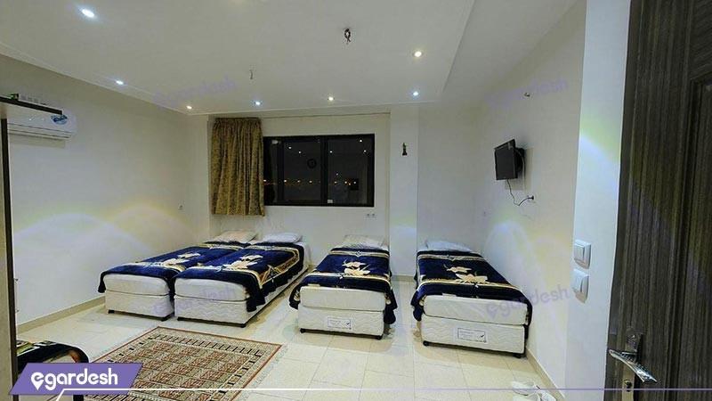 اتاق چهار تخته هتل امامی