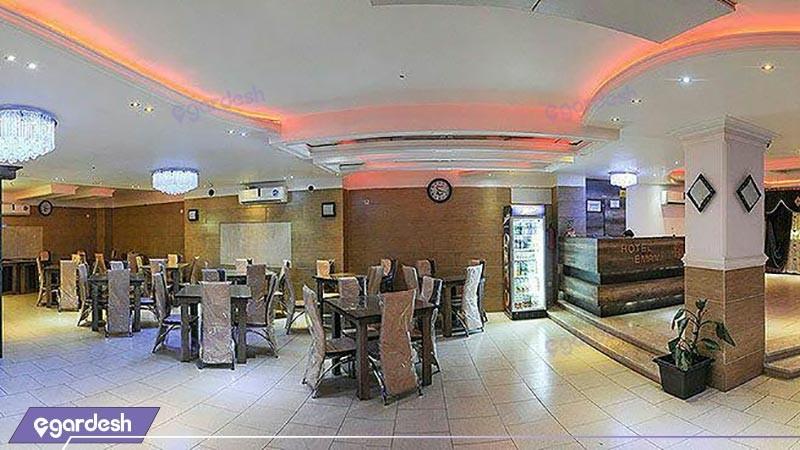رستوران هتل امامی