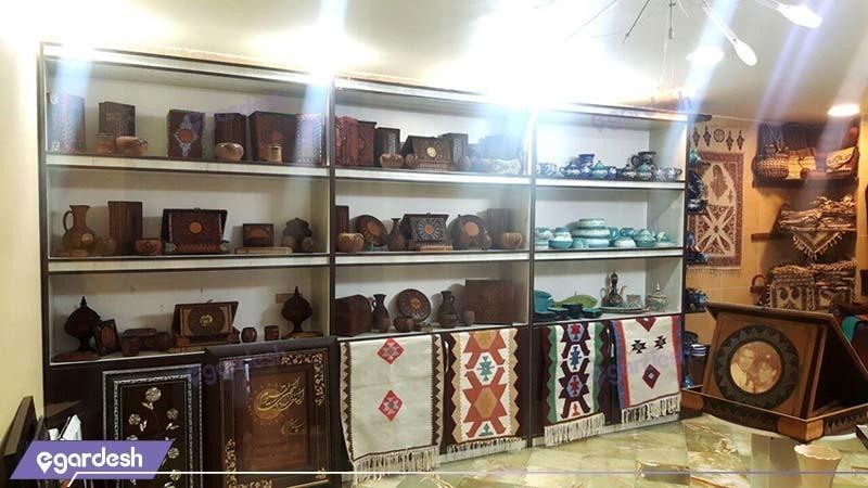 فروشگاه صنایع دستی هتل بین المللی قم