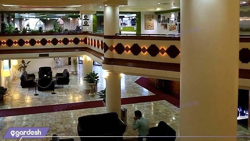 لابی هتل بین المللی قم